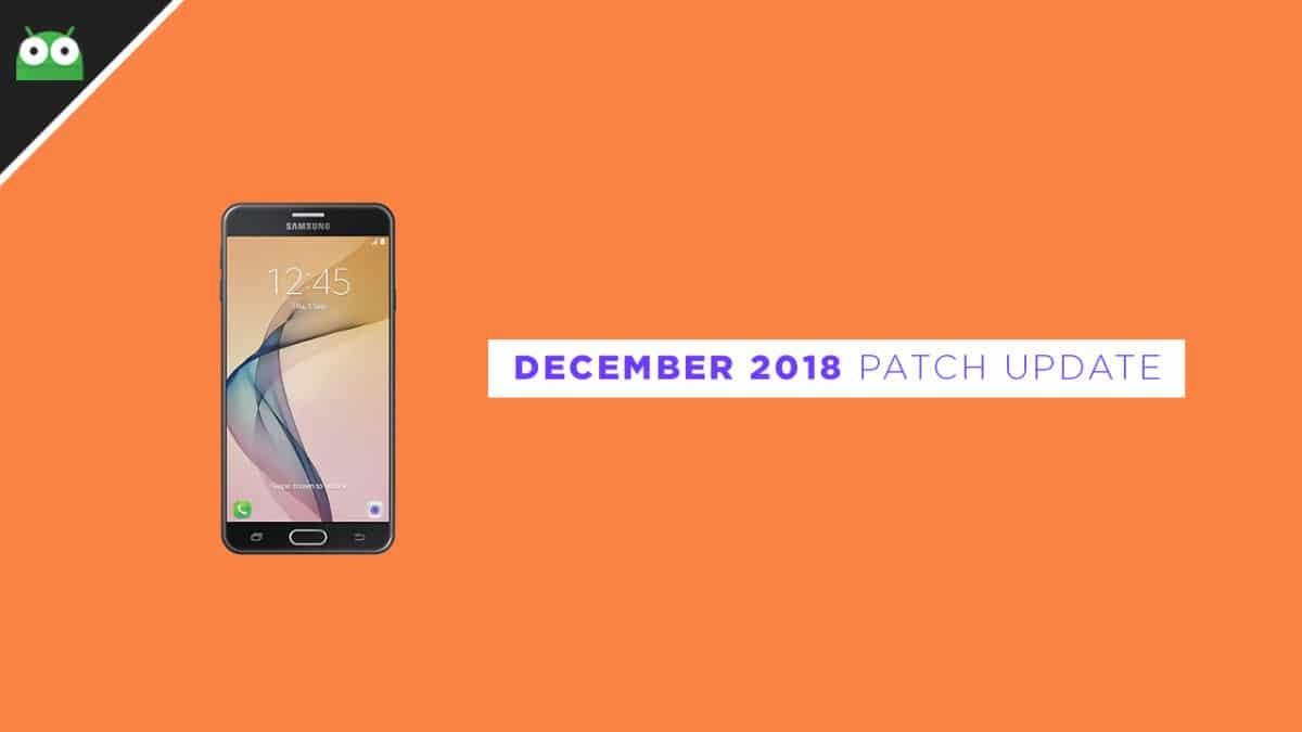 G610FDXU1CRL1: Download Galaxy J7 Prime December 2018 Security