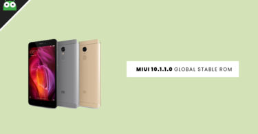 Download and Install Redmi Note 3 MIUI 10.1.1.0 Global Stable ROM