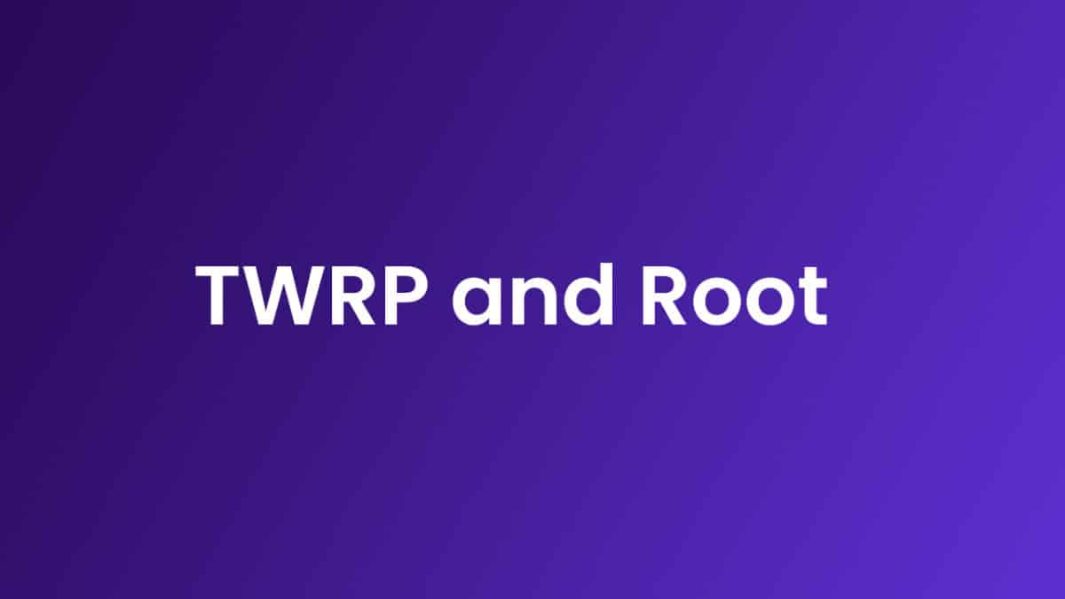 RootOysters T72ER 3G and Install TWRP Recovery