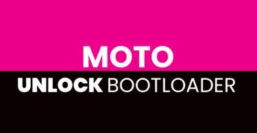 Unlock Bootloader of Moto M