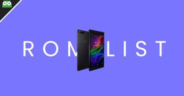 Full List Of Best Custom ROMs For Razer Phone (Pie and Oreo)