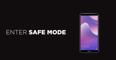 Enter Safe Mode On Huawei Y7 Pro (2019)