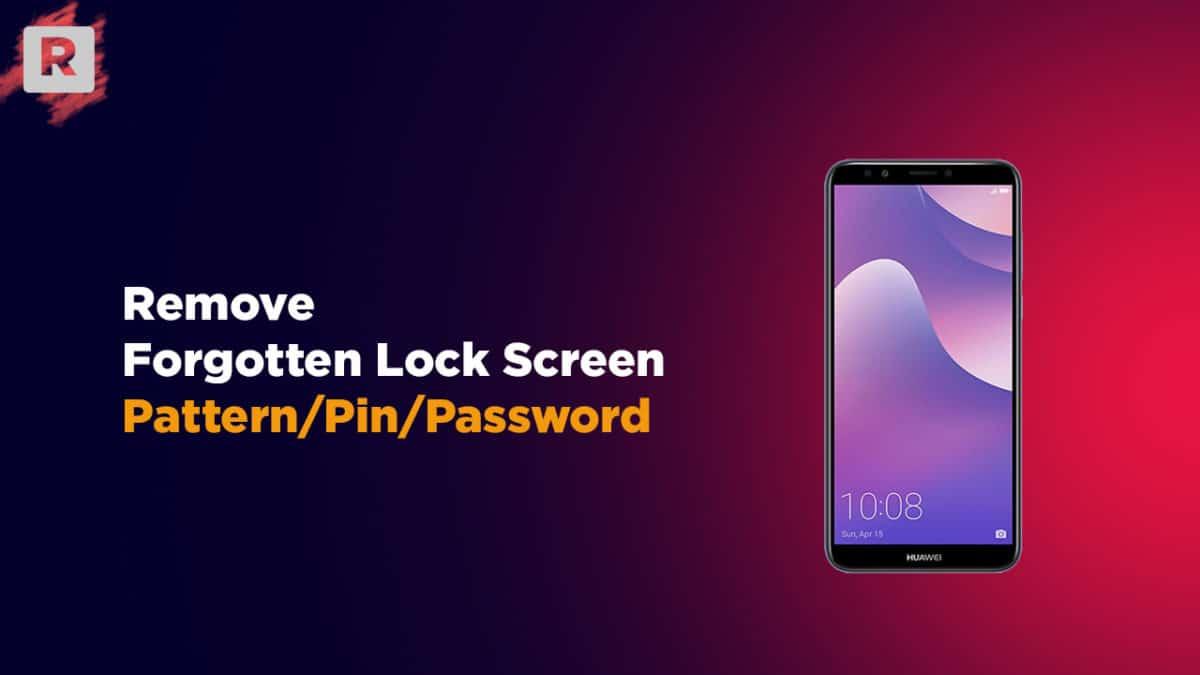Remove Huawei Y7 Pro (2019) Forgotten Lock Screen