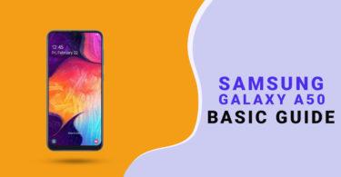 Reset Samsung Galaxy A50 Network Settings