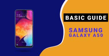 Change Samsung Galaxy A50 Default language