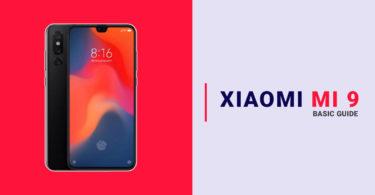 Clear Xiaomi Mi 9 App Data and Cache