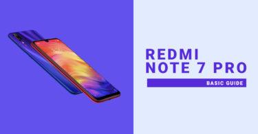 Reset Redmi Note 7 Pro Network Settings