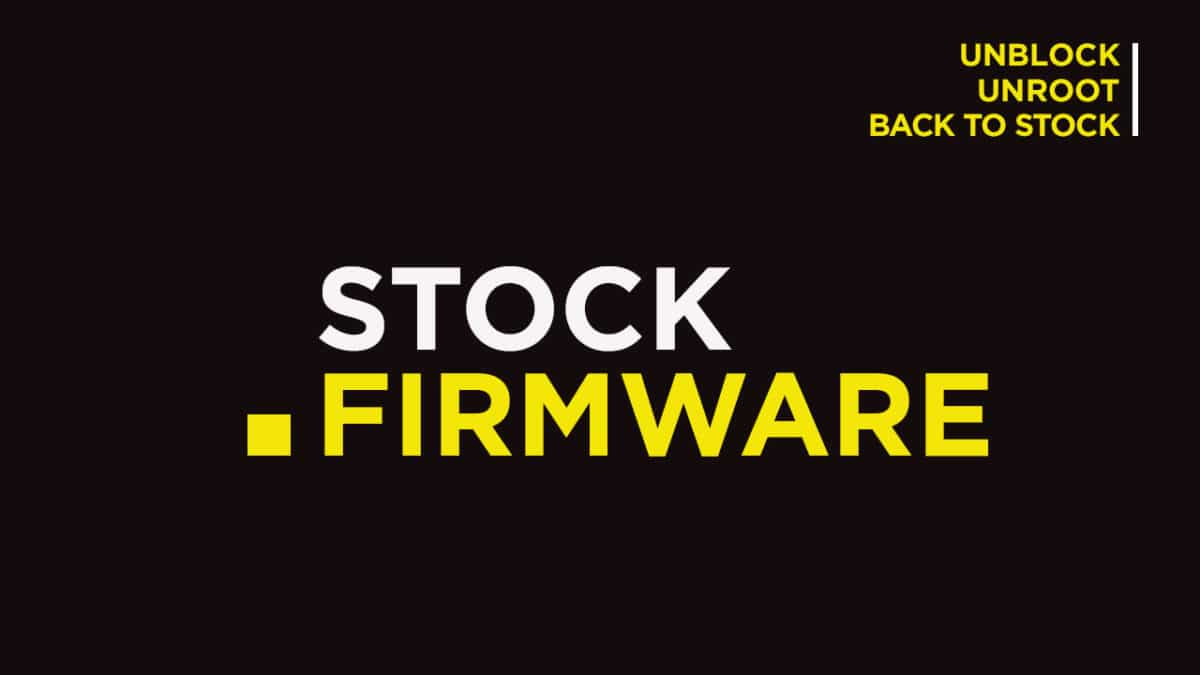 Install Stock ROM on PCD 508 (Firmware/Unbrick/Unroot)