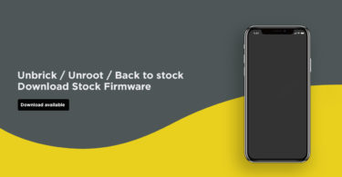 Install Stock ROM on Cktel T9000 (Firmware/Unbrick/Unroot)