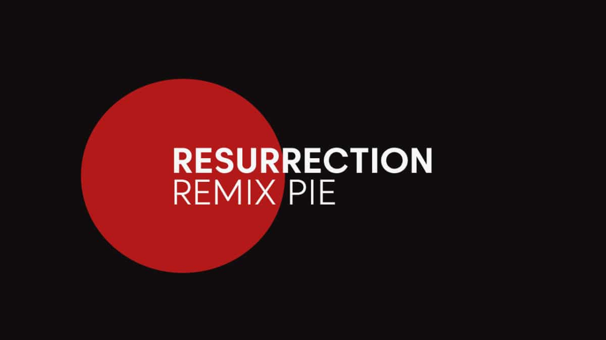 Update Motorola Moto Maxx To Resurrection Remix Pie (Android 9.0 / RR 7.0)