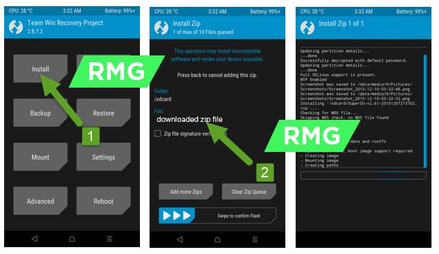 Disable DM-Verity and Forced Encryption