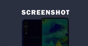 Take Screenshot On Samsung Galaxy M40