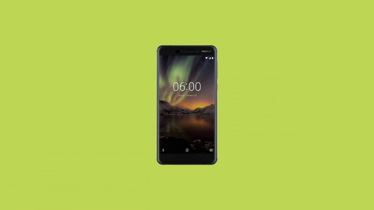 Download Nokia 6.1 2018 Stock Firmware