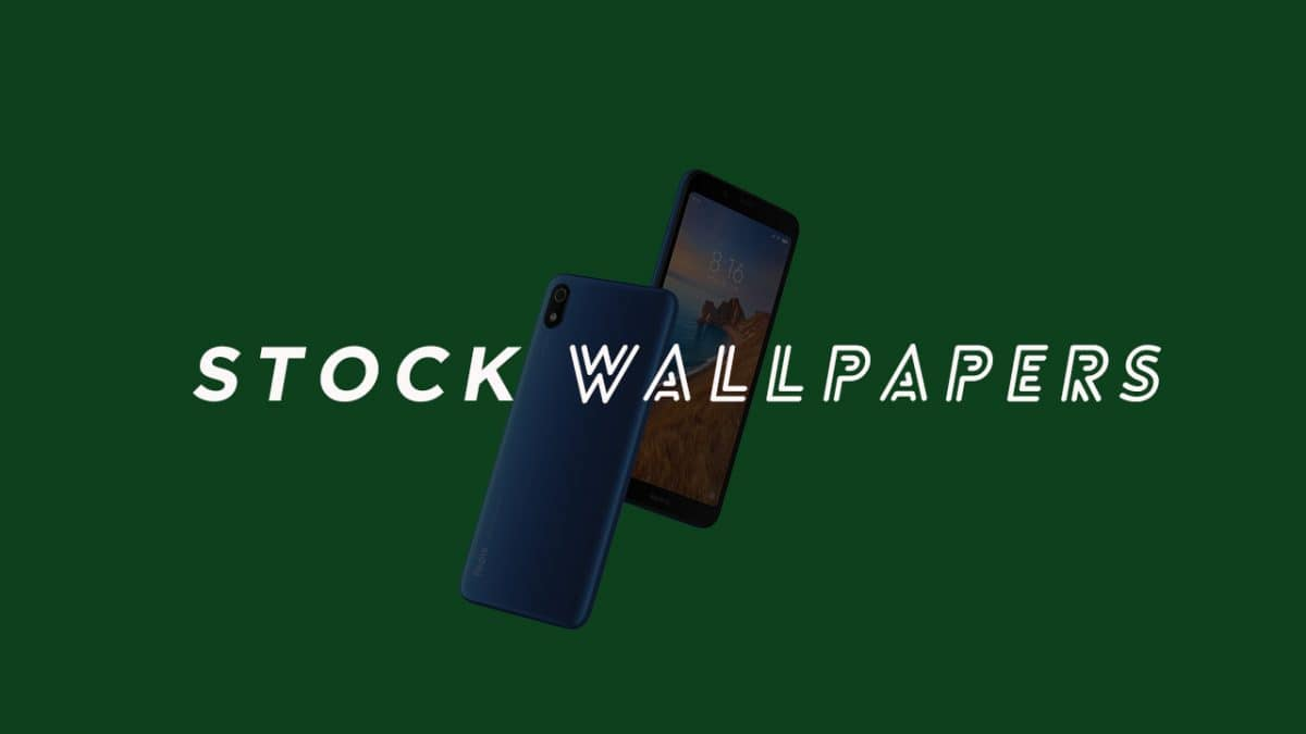 Redmi 7A Stock Wallpapers