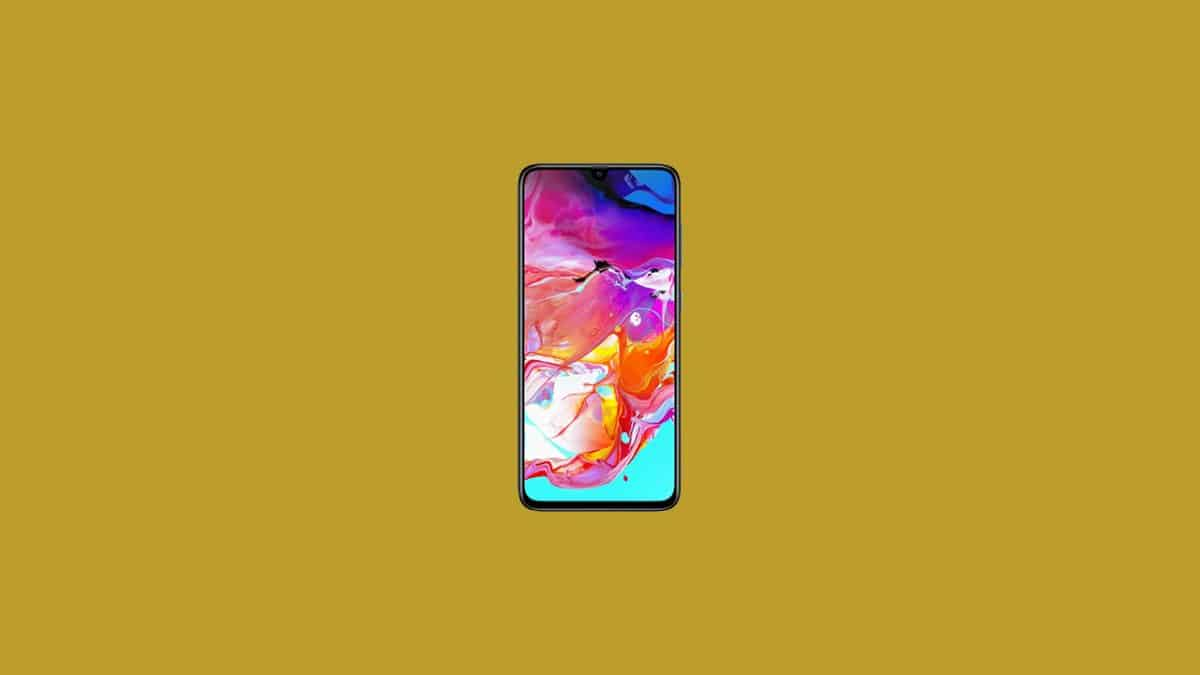 Samsung Galaxy A70 Stock Firmware