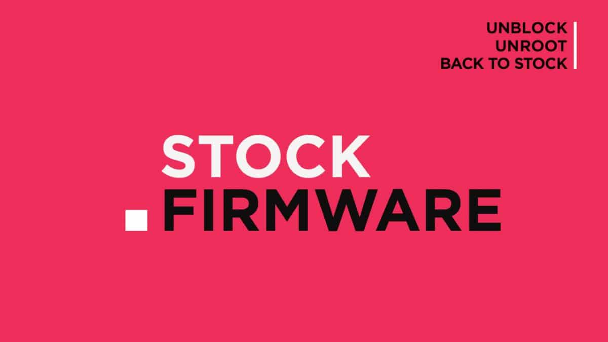 Install Stock ROM On Camon R13 [Official Firmware]