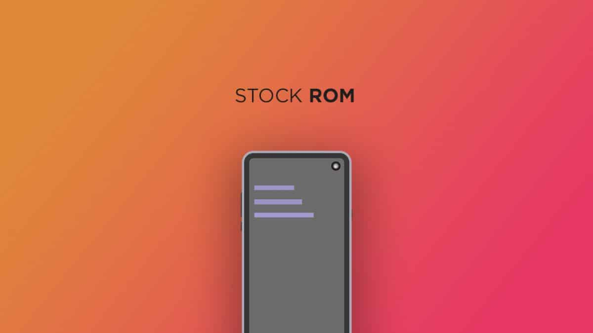 Install Stock ROM On Hyve ST01 [Official Firmware]