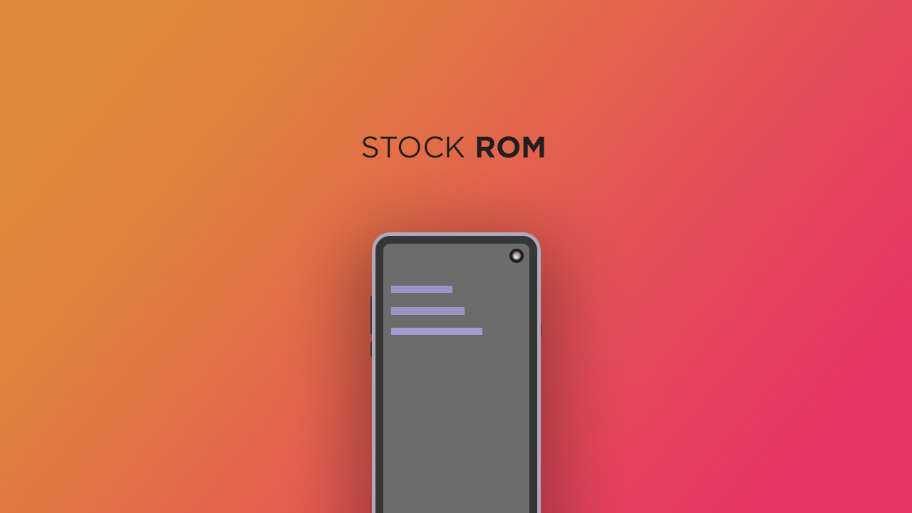 Install Stock ROM On S-Tell M707 (Firmware/Unbrick/Unroot)