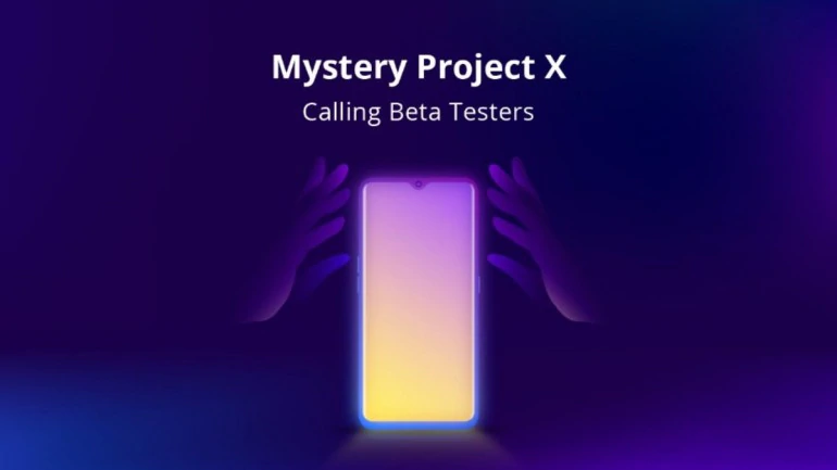 Realme Mystery Project X calling beta testers, Realme OS expected