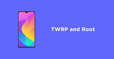 Root Xiaomi Mi CC9 and Install TWRP Recovery