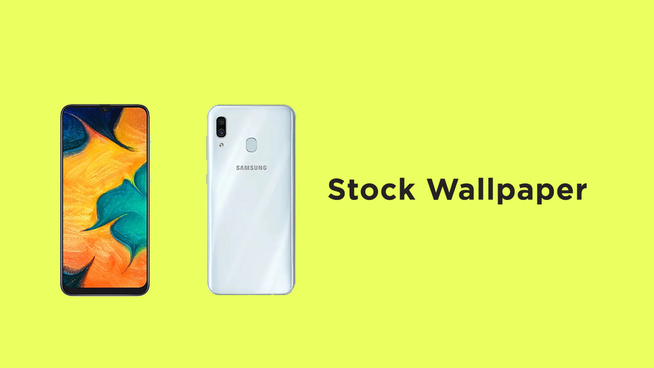 Samsung Galaxy A30s Stock Wallpapers Download (Full HD)