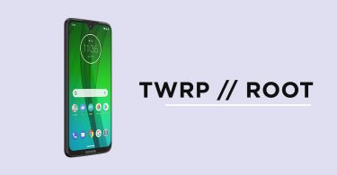 Install TWRP Recovery and Root Moto G7