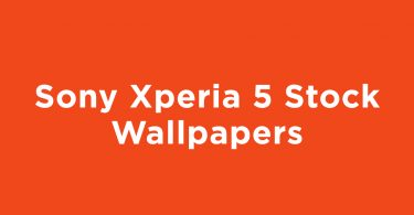 Download Sony Xperia 5 Stock Wallpapers in Full HD Resolution