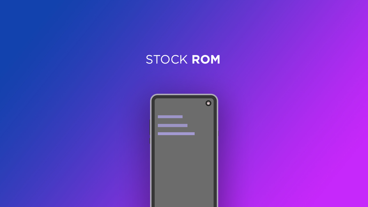 Install Stock ROM On Hello R2 [Official Firmware]
