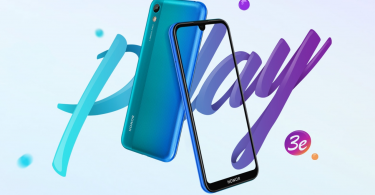 Honor Play 3e launched with Helio P22 SoC, dot drop notch, and more