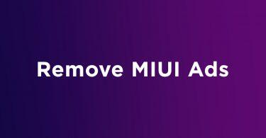 remove MIUI ads