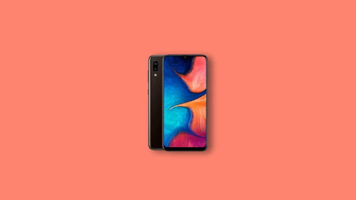 Samsung Galaxy A20 Stock ROM