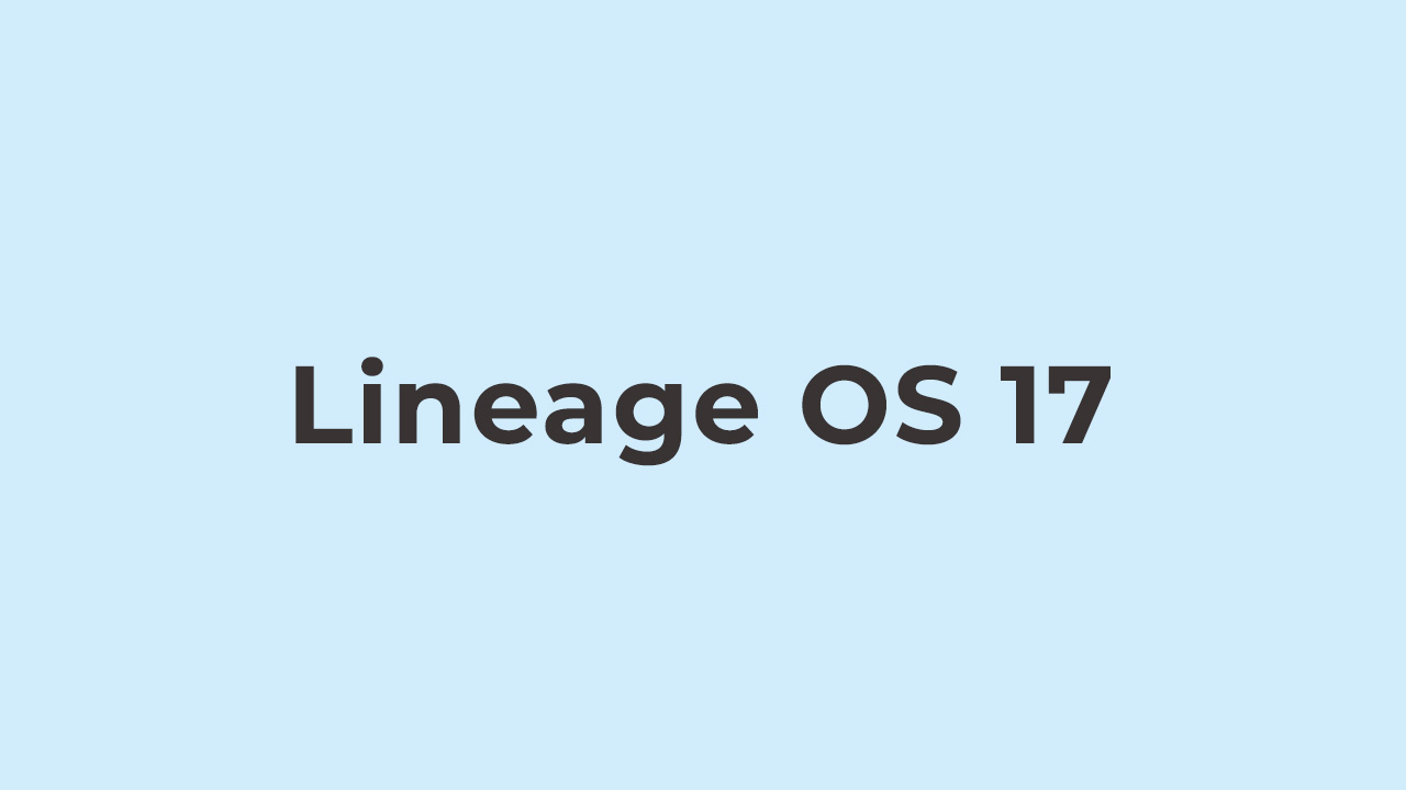 Lineage OS 17 On Asus ZenFone 5Z
