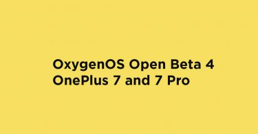 Download OxygenOS Open Beta 4 for OnePlus 7 and 7 Pro (OTA)