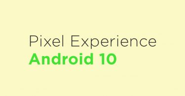 Install Pixel Experience Android 10 On Xiaomi Mi A1