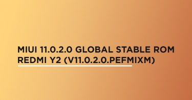 Install MIUI 11.0.2.0 Global Stable ROM On Redmi Y2 (V11.0.2.0.PEFMIXM)