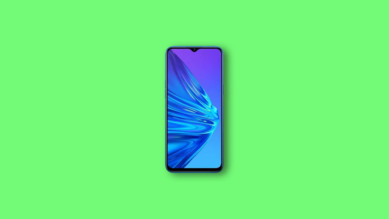 Install TWRP and Root Realme 5