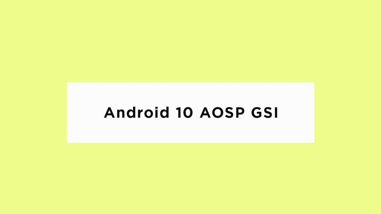 Install Android 10 AOSP Update For Honor 8 Lite {GSI}