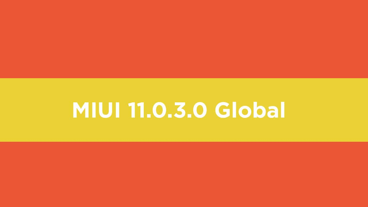 MIUI 11.0.3.0 Global Stable ROM On Redmi K20 Pro (V11.0.3.0.QFKINXM)