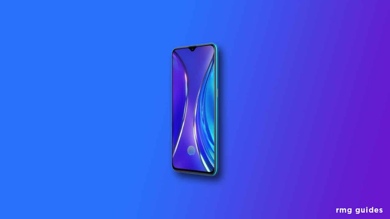 Download and Install Realme XT Stock ROM (Firmware File)