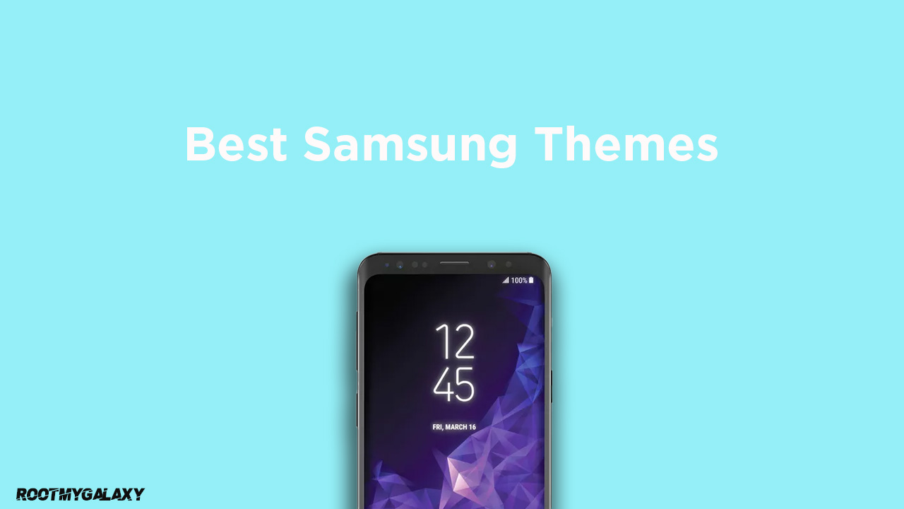 Best Samsung Themes 2020 (Galaxy Themes)