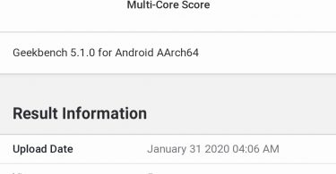 Realme RMX2027 spotted on the Geekbench with 4GB RAM, most likely Realme 6