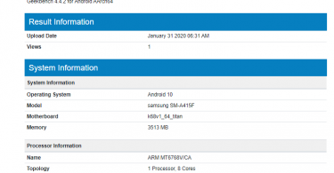 Galaxy A41 specs revealed as it spotted on Geekbench