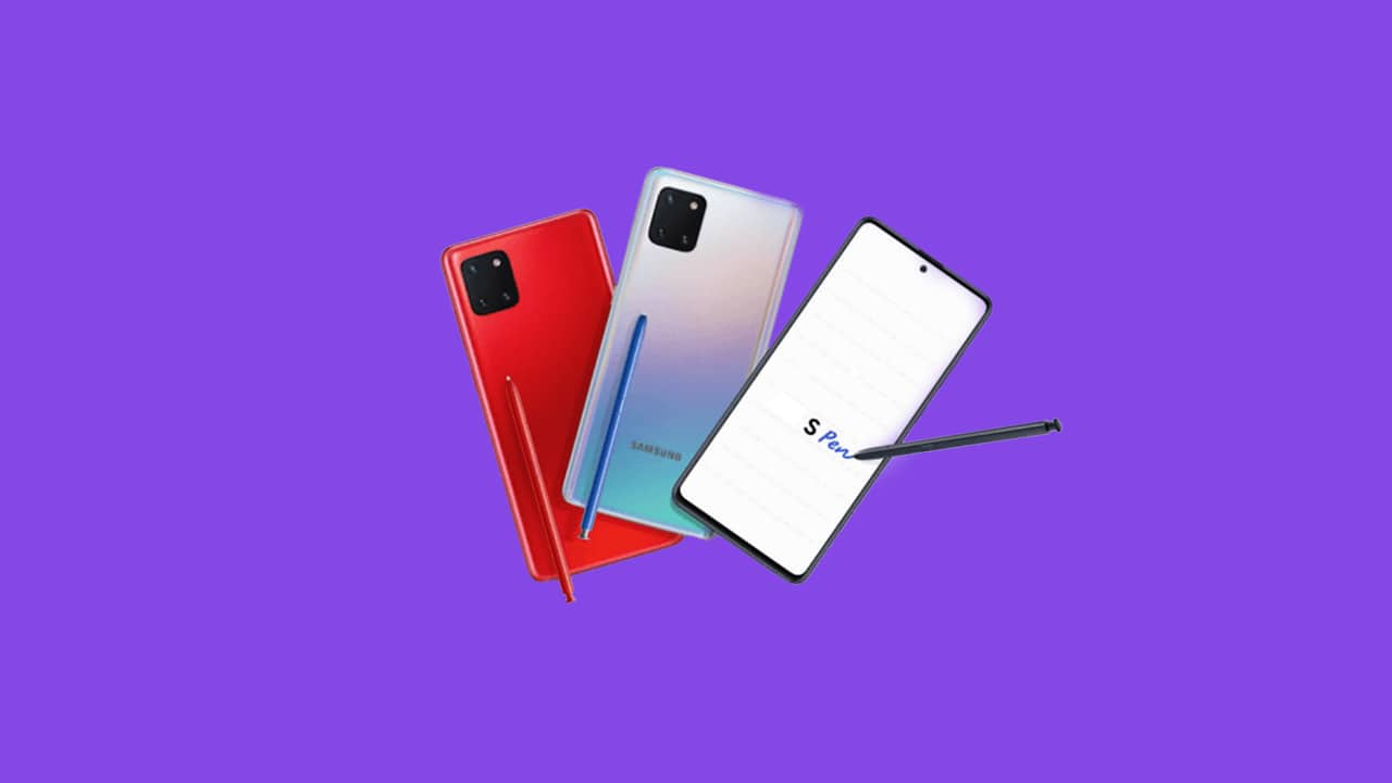 Download Galaxy Note 10 Lite Firmware (Stock ROM Flashing)