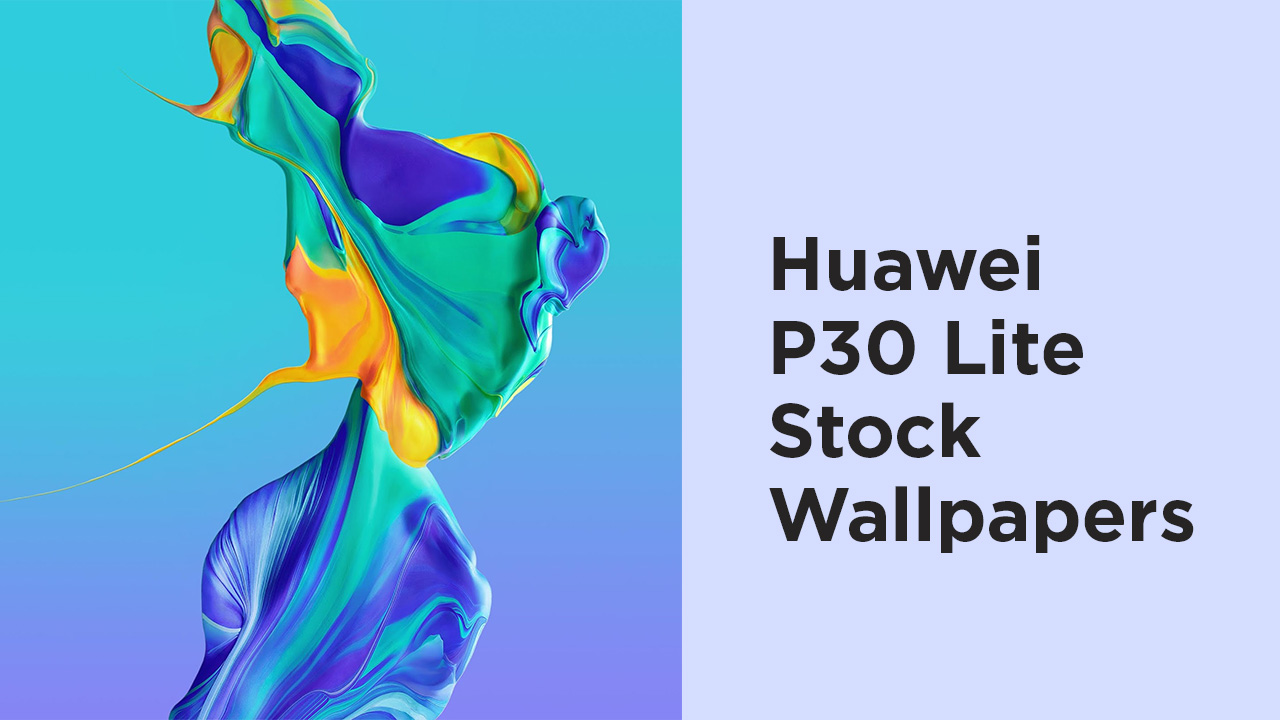Download Huawei P30 Lite Stock Wallpapers