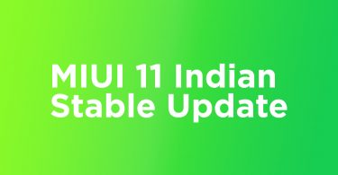 MIUI 11.0.5.0 India Stable ROM On Redmi 8A (V11.0.5.0.PCPINXM)