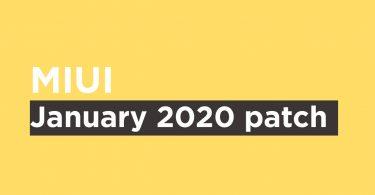 Mi A1 January 2020 Security patch {V10.0.17.0.PDHMIXM}
