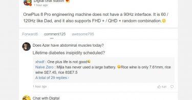 OnePlus 8 Pro to support ony 60Hz ond 120Hz, no 90Hz