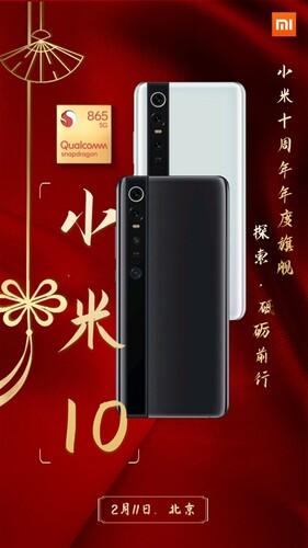 fan-made Xiaomi Mi 10 Leak