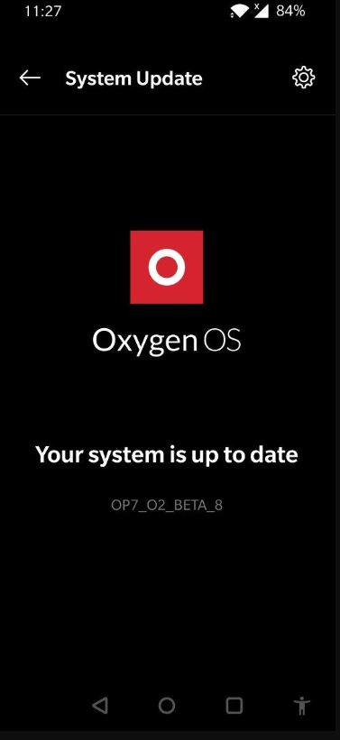 OnePlus 7 Open Beta 8