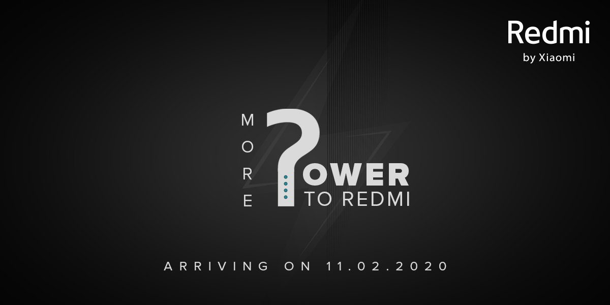 Redmi to launch it's Power Bank on 11th Feb 2020